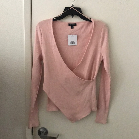 Topshop Dresses & Skirts - Long sleeve going out shirt